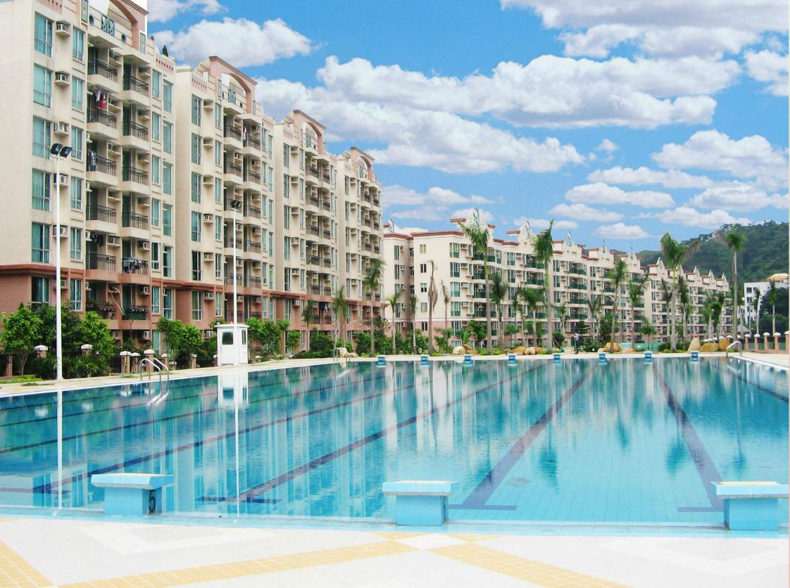 住宅項目的標準奧林匹克游泳池