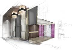 希爾頓花園酒店設計圖