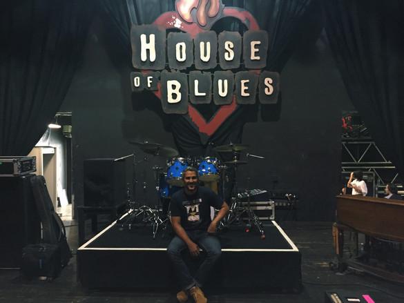 Visita al House of Blues junto a Pedro Capó