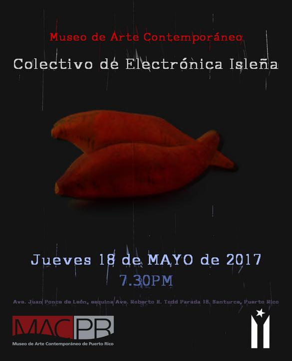 Concierto del Colectivo de Electrónica Isleña en el Museo de Arte Contemporáneo