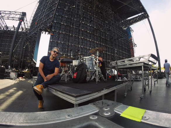 Montaje 1er fin de semana Coachella 2019