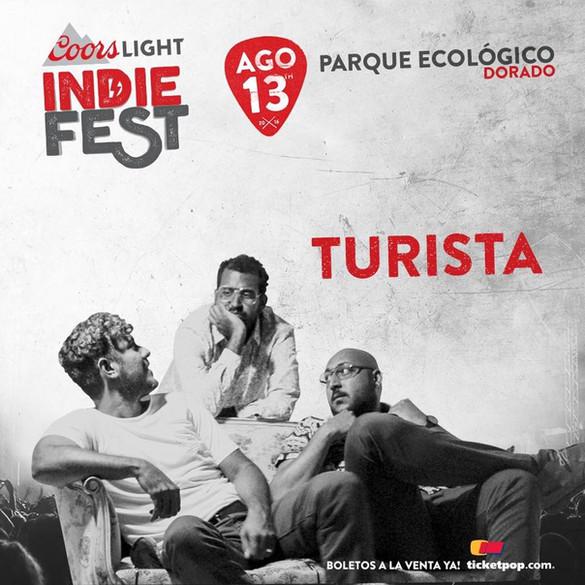 De Turista para el Coors Light Indie Fest 2016