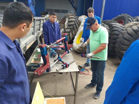 Семинар-практикум по монтажу/демонтажу крупногабаритных шин