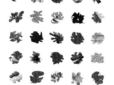 抽象図形や記号の記憶法