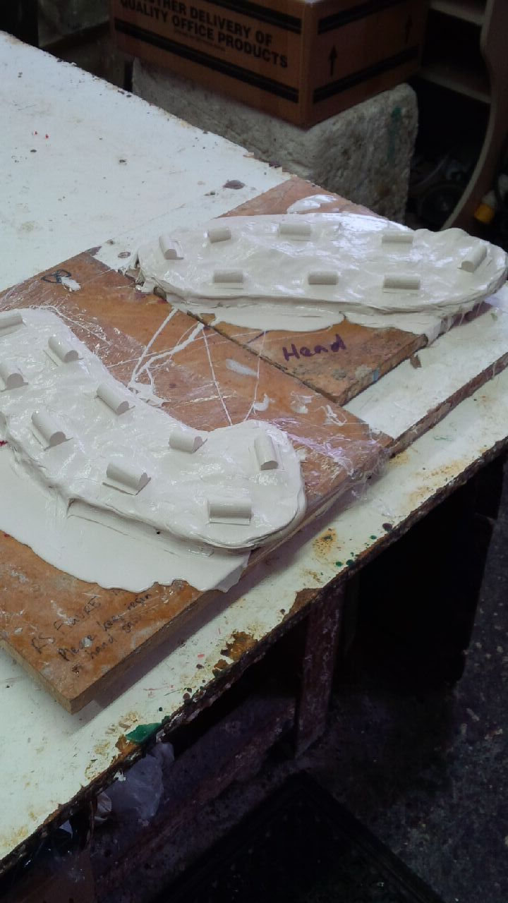 Mould Making of Twigs
