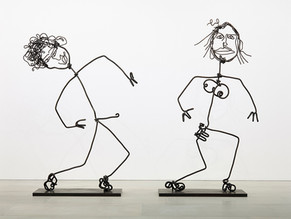 Tim Noble & Sue Webster : STICKS WITH DICKS AND SLITS