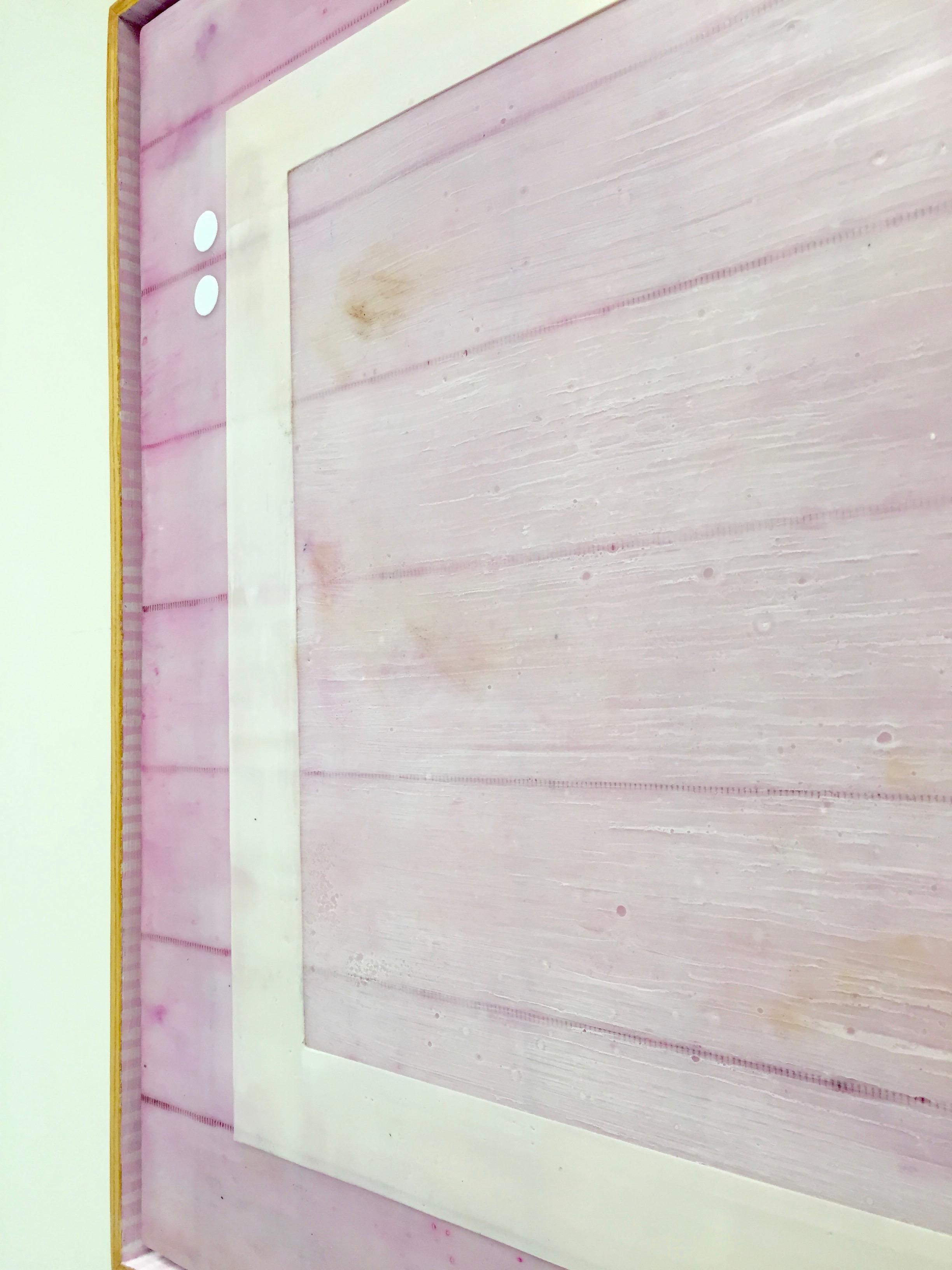 Blushed frame closeup