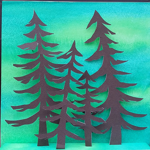 Small Pine trees