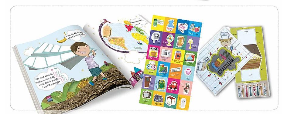 עיצוב חוברת לילדים עולים חדשים