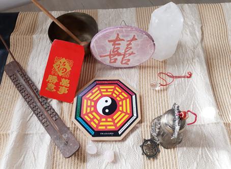 המפגש שלי עם פאנג שואי, האור,הצלילים והצבעים
