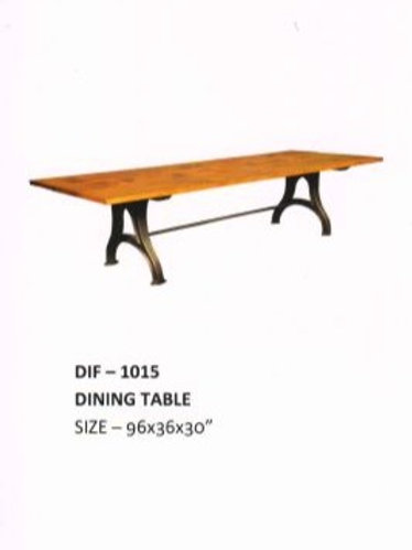 Heavy Duty Industrial Dining Table
