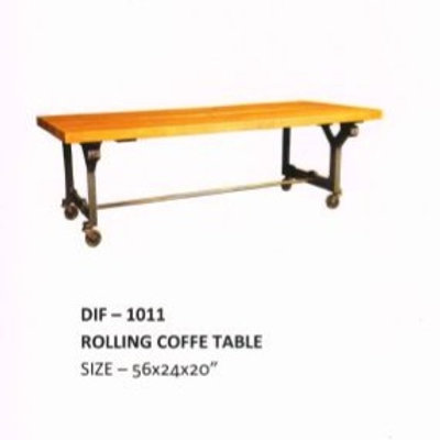 Heavy Duty Industrial Rolling Coffee Table