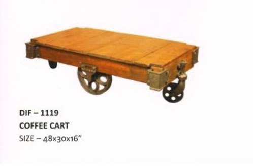 Industrial Coffee Cart