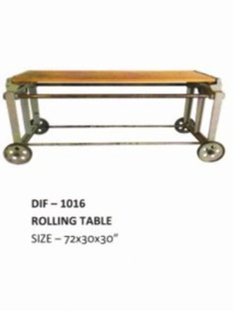 Heavy Duty Industrial Rolling Table