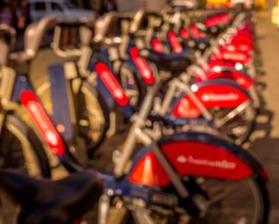 Blurry Bikes