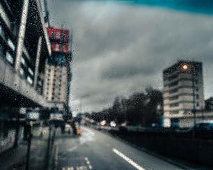 London Bus Window