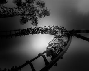 Rollercoaster B&W