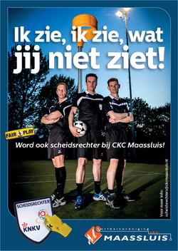 Scheidsrechter poster A3-A-01