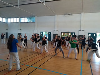 Cours de Makulélé à Villefranche, stage de capoeira 2018