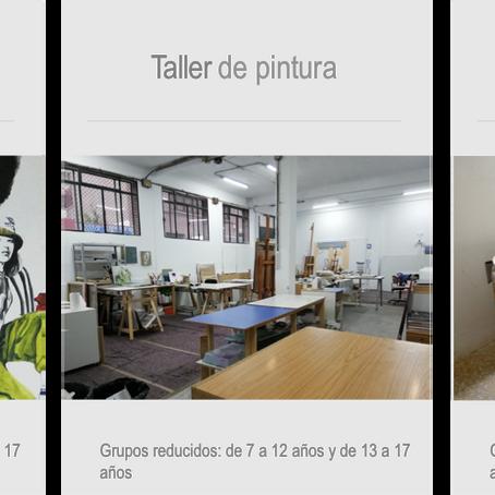 Estudios para artistas, galería de arte contemporáneo y diseño, talleres de artes plásticas.