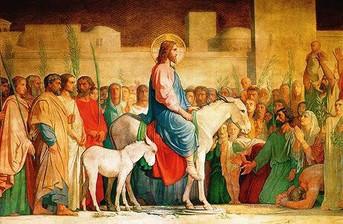 Domingo de Ramos, para gloria de nuestro Señor