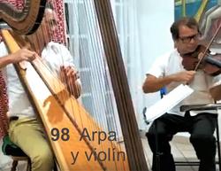 98 Arpa y Violín