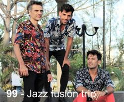 Jazz fussion trio