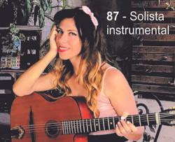 87 Solista instrumental