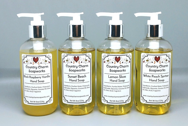 Liquid Soap - 8 oz each