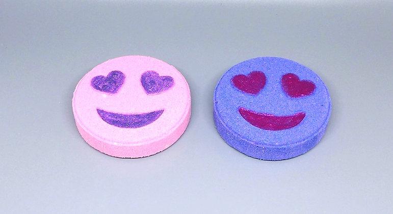 Sweet Tart Emoji Bubble  Bath Fizzies