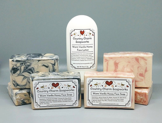 Warm Vanilla Honey Face Lotion - Custom Order 4 oz