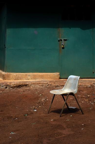A Chair Waiting