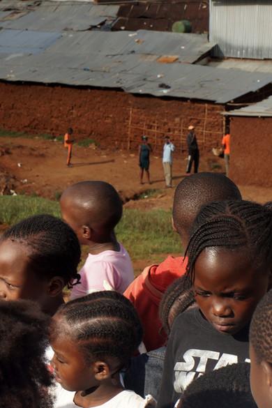Leurs distances, Kibera, Kenya, 2019