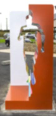 Le coureur-vue 2-sculpture-sculpteur-art