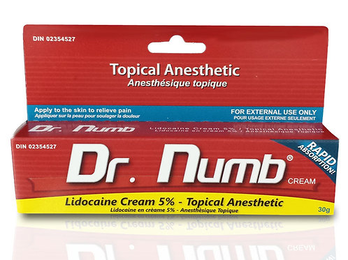 Topical Anesthetic Cream