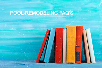 BOOKS ON REMODELING POOLS
