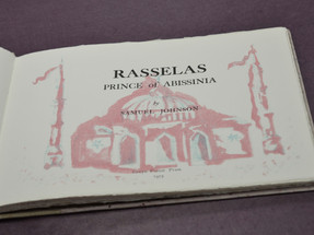 Rasselas - title page