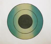 Green Target,  15.75 x 17.75