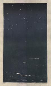 "Moonless, 18.5"" x 12"""