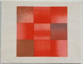 mokuhanga print, Kasuga Vermillion, grid seriesd.png