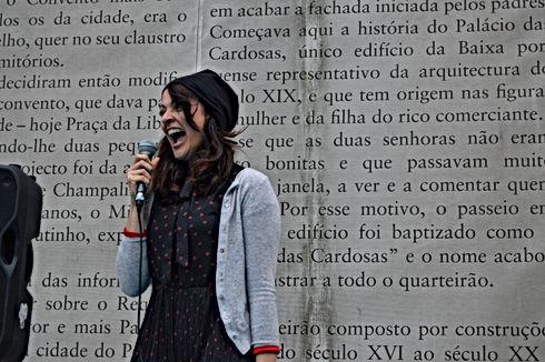 Clara Haddad escritora e narradora