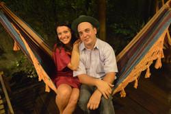 Vinicius Viramundos e Clara Haddad