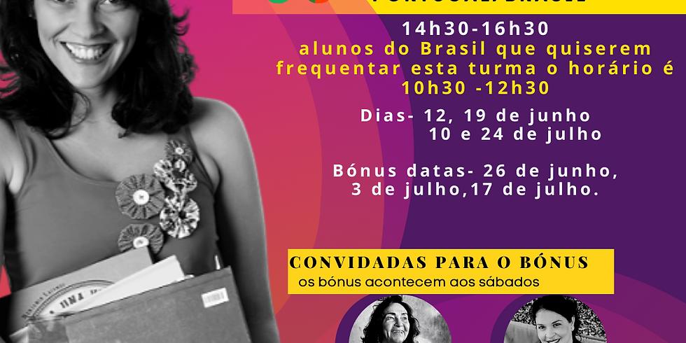 PORTUGAL- TURMA 2- SÁBADOS - Como contar histórias com livros?