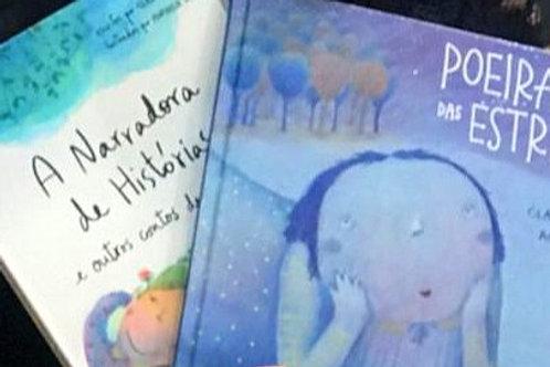 Pack com os livros: A narradora de Histórias e Poeira das Estrelas