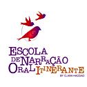 Logo Vermelha e Branca de Escola Infanti