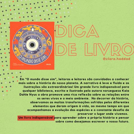#dicas de livros por Clara Haddad