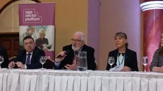 Dickson Addresses Pensioners Parliament