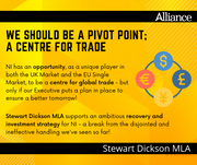 We Should be a Pivot Point; a Centre for Trade