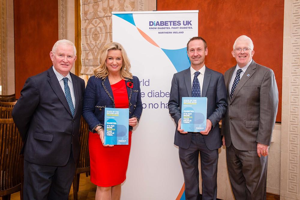 Stewart at Diabetes event