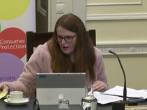 Stewart Poses Questions on Article 16 at the Committee for the Economy